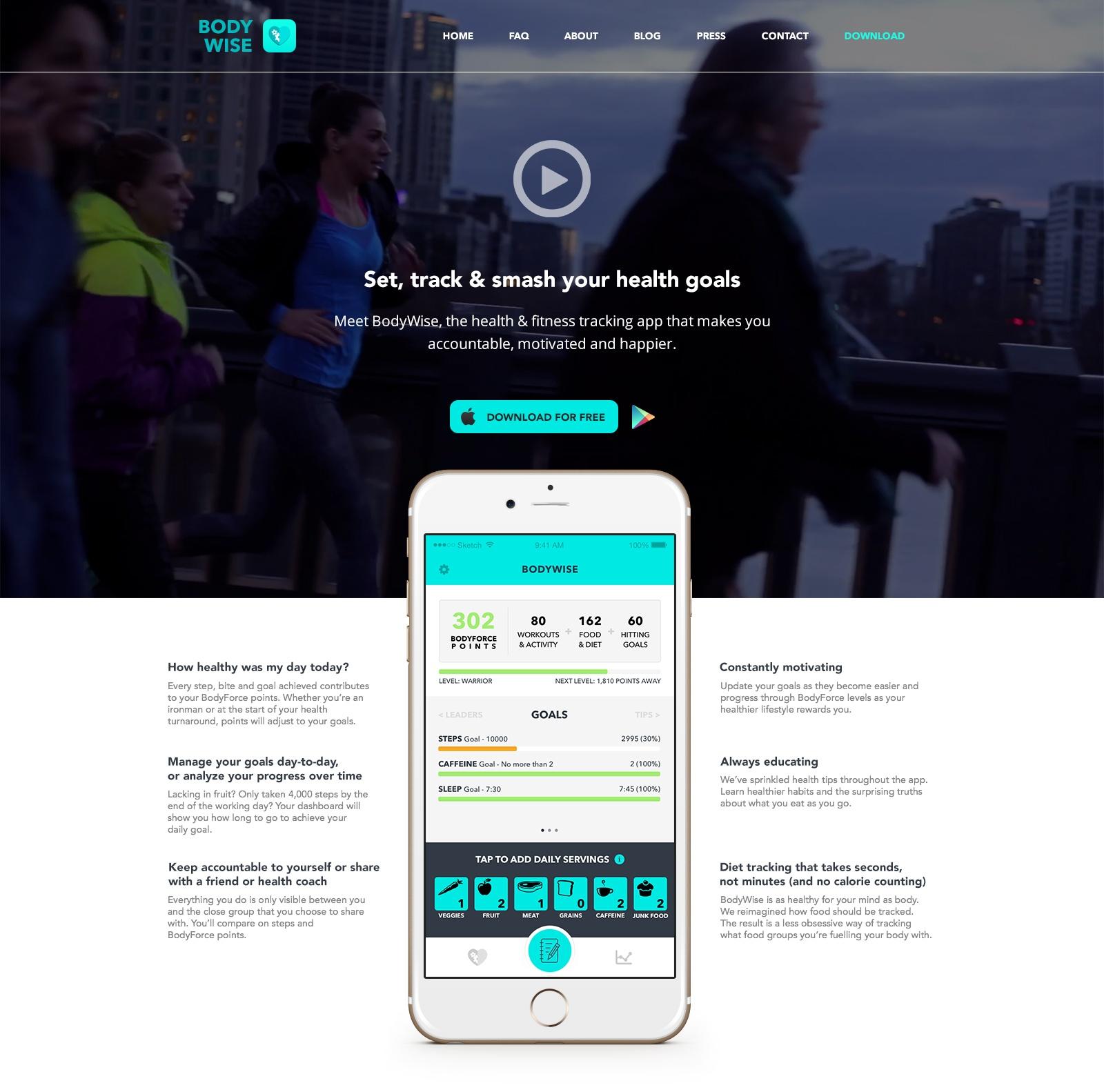 BodyWise Web Design
